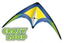 CRAZY LOOP, 100x56 cm