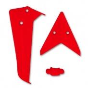 Ocasní dekorace červená - S5-02B