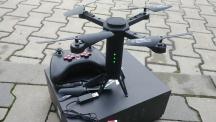 Skládací dron Tower s HD FPV kamerou a senzory proti nárazu ČERNÁ