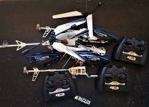 RC vrtulník CX-007 Exclusive - zbylé náhradní díly