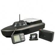 Zavážecí RC loďka V3 2,4Ghz se sonarem - prasklá