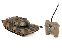Abrams 1/24 - 36cm - infra střely - nejede jeden pás