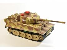 German Tiger 1/24 - 27cm - infra střely - poškozený převod náhonu, bez nabíječky