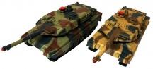 Velké soubojové tanky Leopard 2A6 - 2ks v balení - chybí zelený tank