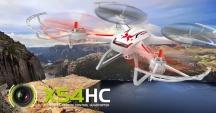 Dron SYMA X54HC - vadná elektronika