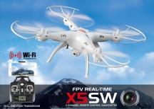 Syma X5Csw- plně funkční model, použitý, v dobrém stavu. Odřené listy, ušpiněn. Kompletní balení.