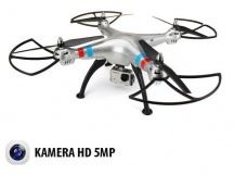 SYMA X8G - 8Mpix HD kamera - dlouhá doba letu - bez ovladače