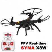 SYMA X8CW Wifi FPV - vadný vypínač dronu, nový je součástí balení, nutná výměna