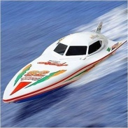 RC člun Wing speed 7000 - nefunkční, bez aku a nabíječky