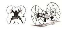 Ninja hybrid - mini šplhací dron - vadná elektronika