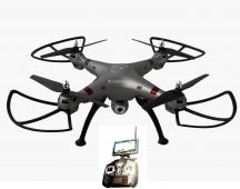 K800FPV - RC dron s online přenosem na obrazovku vysílače - vadné ozubené kolečko, škrábanec na displeji, vadná elektronika