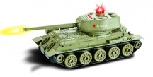 Tank T-34 ,,RUDY,, 1/24 - vadná elektronika
