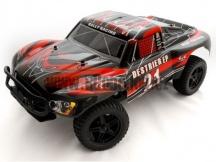 HSP Rally Monster Desert SC 1/10 - modrobílá vystavený model