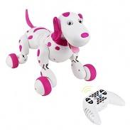 Robo-Dog - Pes na dálkové ovládání - růžová - bez nabíječky