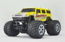 Big Foot RC auto 4WD, 1:24 - S LCD displejem