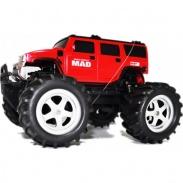 Monster Truck 1:16 -  bez pneumatiky, červená, nový