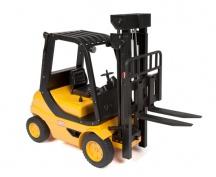 Vysokozdvižný vozík 1/8 na dálkové ovládání - ještěrka, vysokozdvih - poškozen hnací pohon