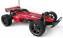 Velké auto buggy na dálkové ovládání - 34cm - bez baterky do ovladačem jinak nový, červená