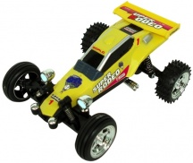 RC mini auto buggy kart 2009 - bez ovladače, zel. 40Mhz, nový