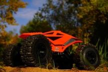 DF-Crawler 4WD, RTR - prasklé přední zavěšení