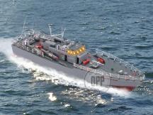 RC torpedo boat 1:115 - jeden motor má horší chod