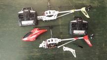 RC vrtulník SYMA S031 - zbylé náhradní díly
