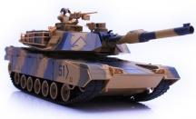 Abrams 1/24, airsoft - stáčí se