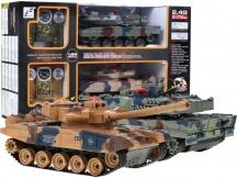 Sada bezpečných soubojových tanků, použité