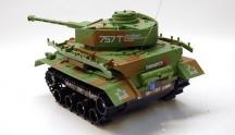 Obojživelný RC tank Challenger občas nereaguje pravý pás