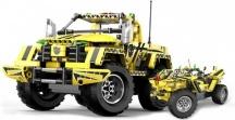 Stavebnice Pick-Up King 2v1 - chybí podvozek