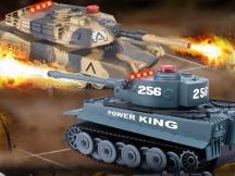 Sada bezpečných infra tanků - vadná věž