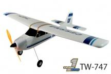 Cessna TW-747 2,4Ghz - Tříkanálový RC model letadla