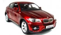 BMW X6  - červená, auto na dálkové ovládání 1/14