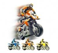 Mini motorka 1:43 - vadný akumulátor - na opravu