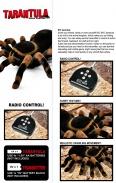 RC Děsivá tarantule 22cm