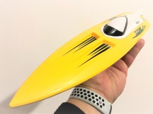 RC DRIFTOVACÍ LOĎ 30km/h - žlutá