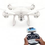 SJ70W - dron s GPS a follow me - bílá