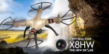 SYMA X8HW Wifi-HD FPV přenos videa + barometr