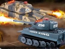 Sada bezpečných tanků  -vadná střelba